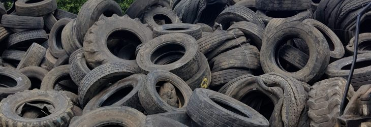 conica truck tyres for recycling