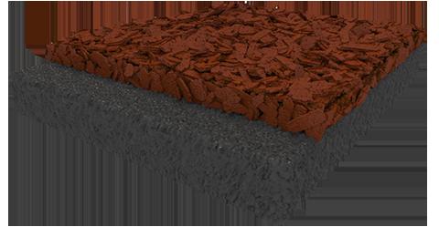 hybrid rubber mulch
