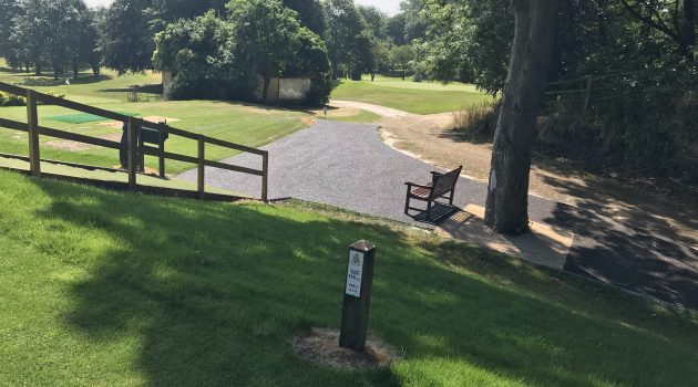 CONIPAVE RA rubber aggregate system installed at Erewash Golf Club