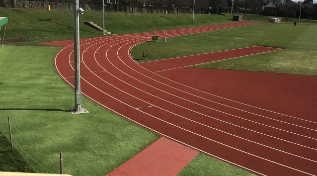 CONICA CONIPUR SW installed at Tonbridge athletics track