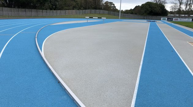 CONICA CONIPUR SW installed at Footes Lane Stadium Guernsey