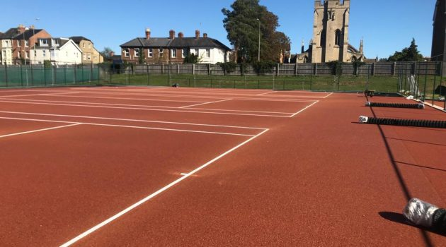 CONICA PRO CLAY at Oxford University tennis courts