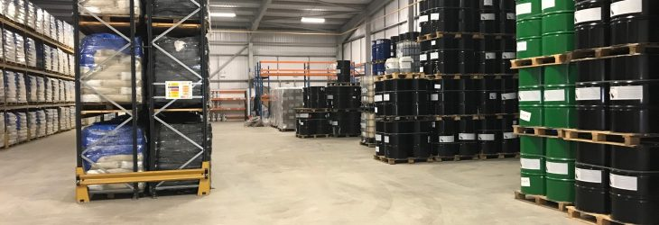warehouse full of stock